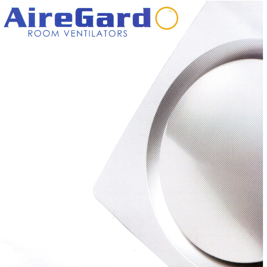 AIREGARD Room/Bathroom Ventilator